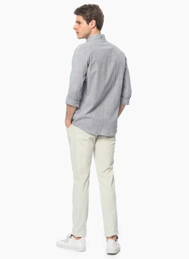 George Hogg Slim Fit Uzun Kollu Gömlek Lacivert